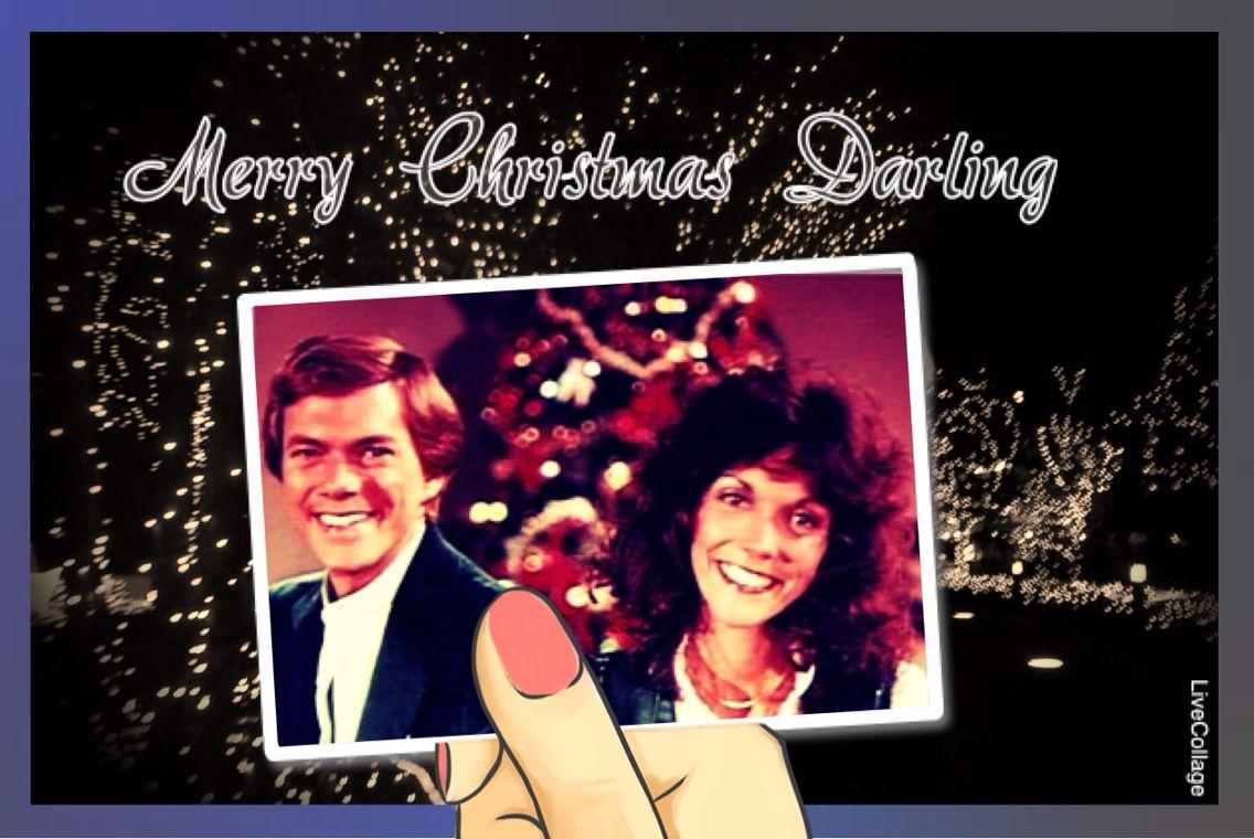 Merry Christmas Darling :)   Carpenters   Pinterest   Karen ...