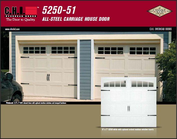 Products On Track Door Systems Inc Garage Doors Carriage House Doors Standard Garage Door Sizes