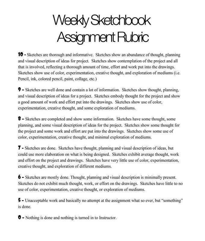 Creative writing homework assignments