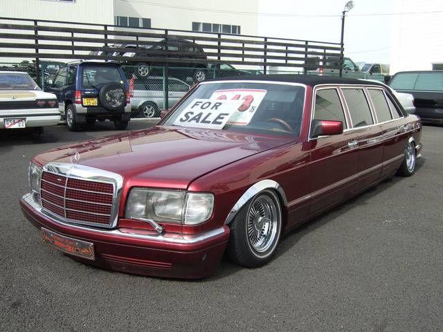 Classic slammed mercedes limo mercedes pinterest for Mercedes benz limousine price