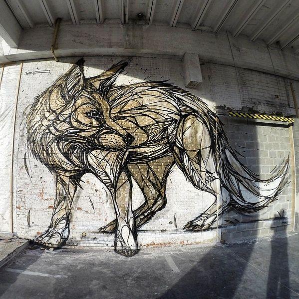 By Dzia in Belgium (http://globalstreetart.com/dzia)