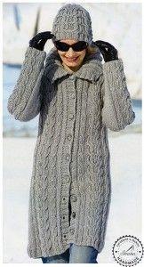 c9ce06832ebe Návod - dlhý sveter a čiapka