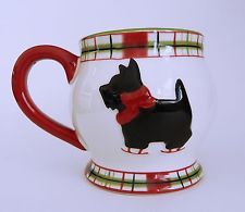 Global Design Connections Kate Williams Scottie Dog Terrier Coffee