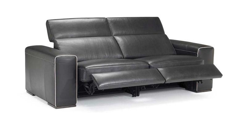 Natuzzi italia clyde | Italian leather sofa, Furniture, Home