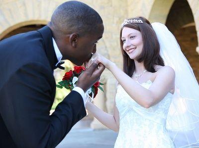 Black interracial marriage white