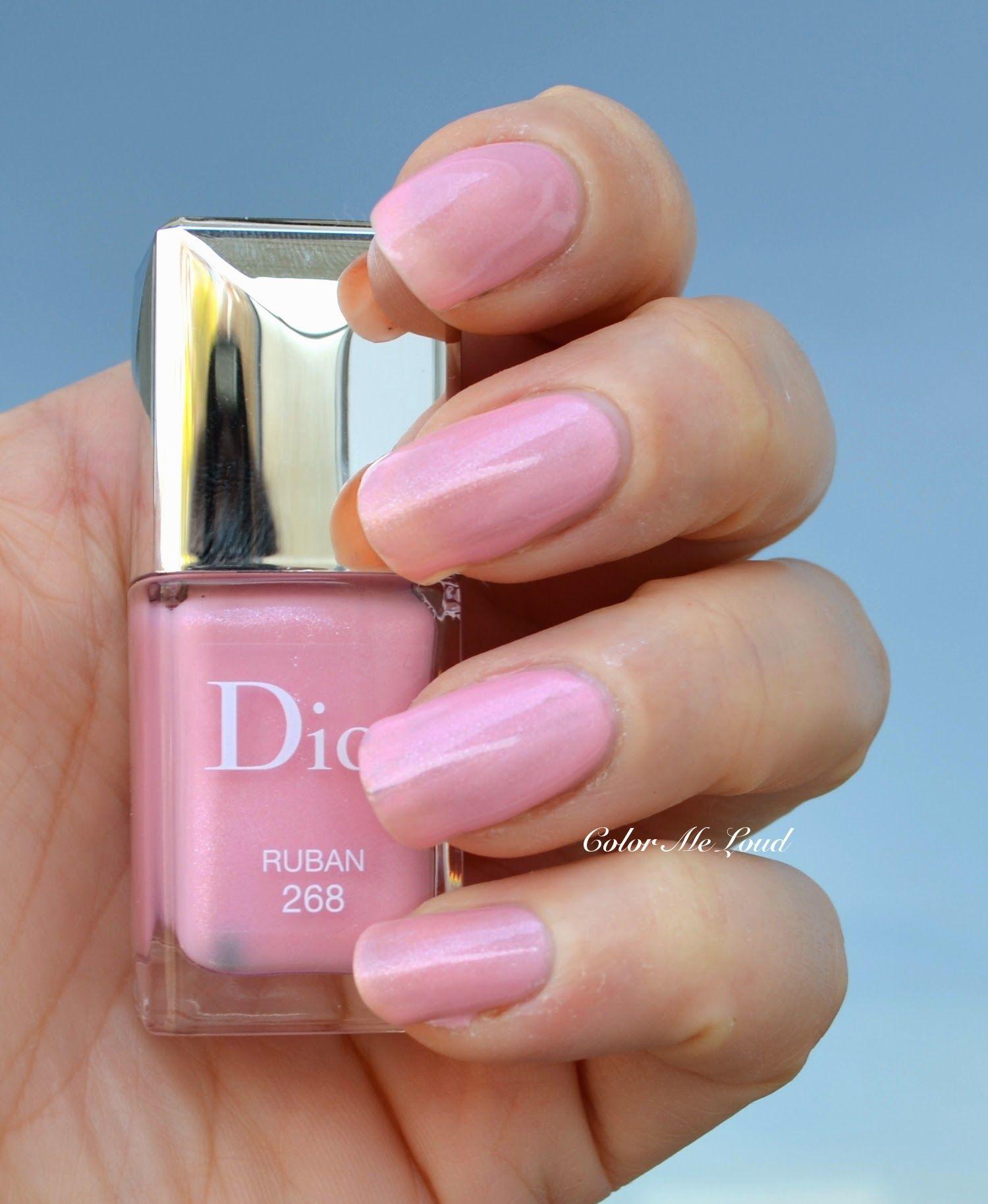 Dior Vernis #268 Ruban Gel Effect Nail Polish | SWATCHES | Pinterest