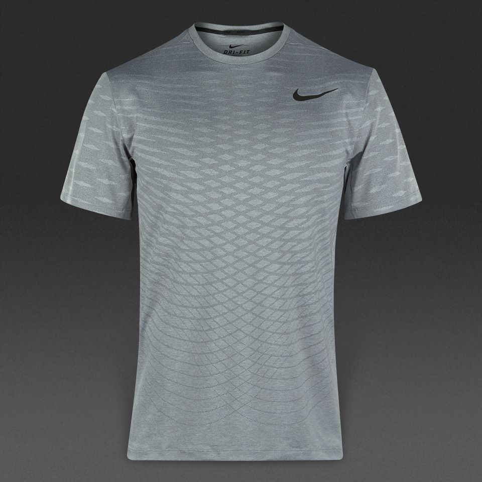 Nike Ultimate Dry SS Top - Wolf Grey/Cool Grey/Black