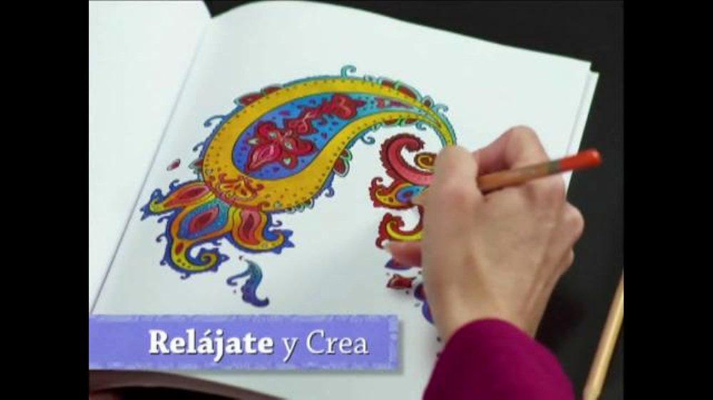 Colorama Coloring Book Commercial Beautiful Colorama Books Tv Mercial Actividad Relajante Ispot Coloring Book Art Coloring Books Skull Coloring Pages