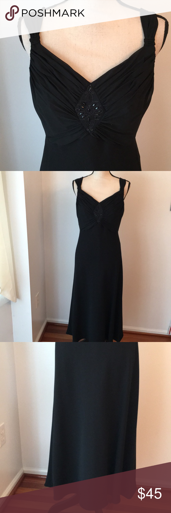 Evan Picone Classic Black Dress Size 12 Classic Black Dress Colorful Dresses Gorgeous Dresses [ 1740 x 580 Pixel ]