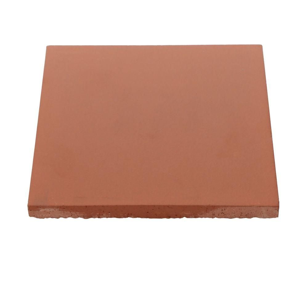 Daltile Quarry Tile Red Blaze 6 In X Ceramic Floor And Wall 11 Sq Ft Case Tilespizza Stoneswall Tileshome Depot