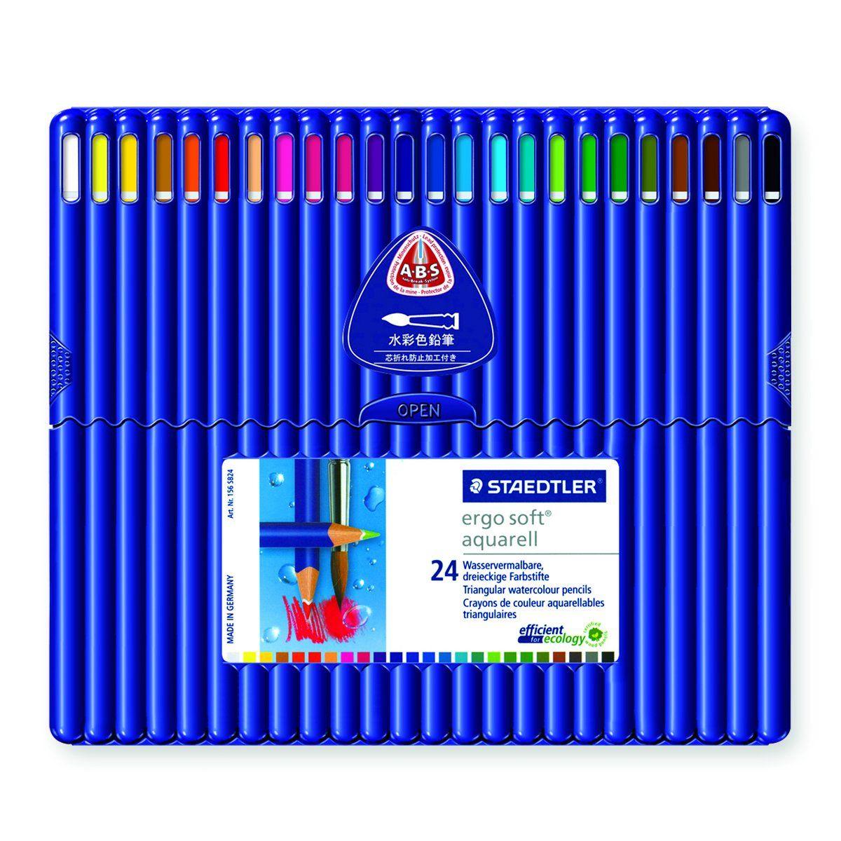 Staedtler Ergosoft Watercolor Pencils 156SB24