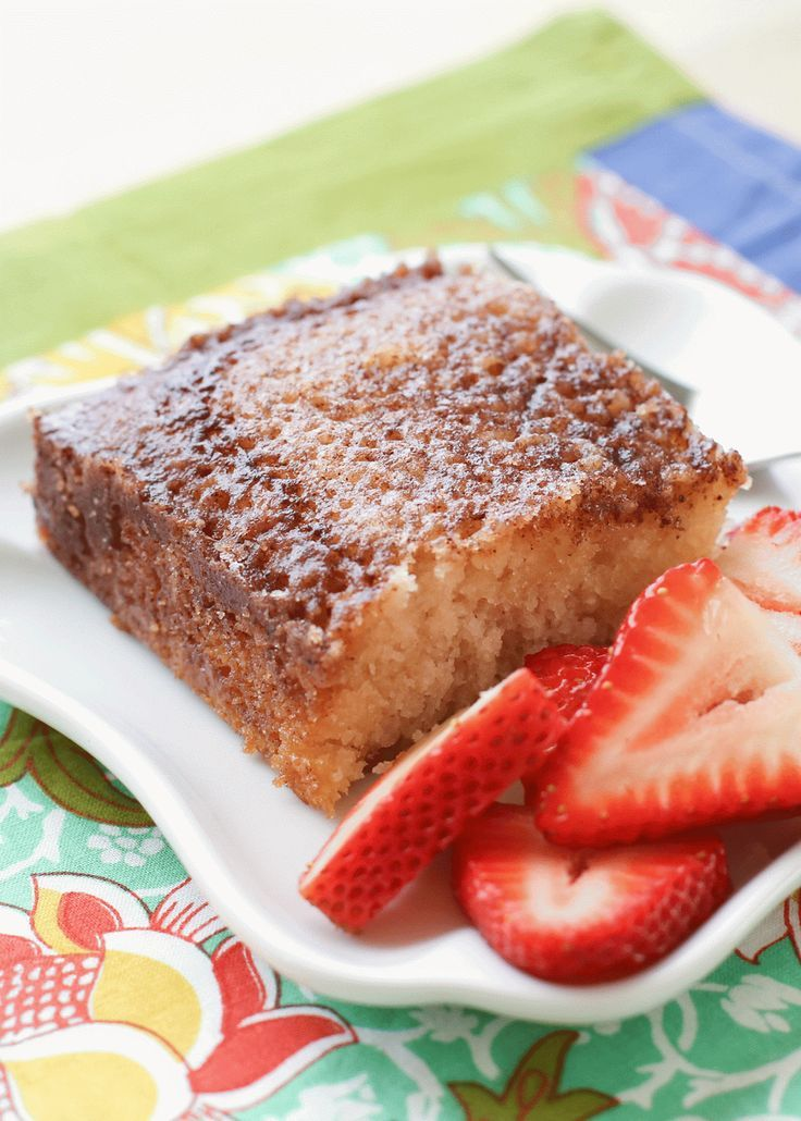 Cinnamon toast cake recipe by barefeet in the kitchen