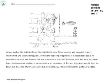 2nd Grade Reading Fluency and Comprehension Passages {Prefix and ...