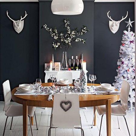 danish modern gray dining room - Benjamin Moore Paint Color ...
