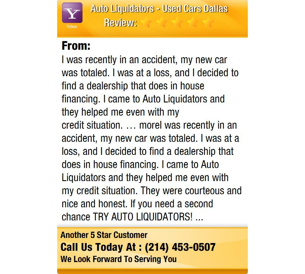 I was recently in an accident, my new car was totaled. I was at a loss, and I decided to...