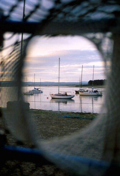 Sunrise in Findhorn Bay