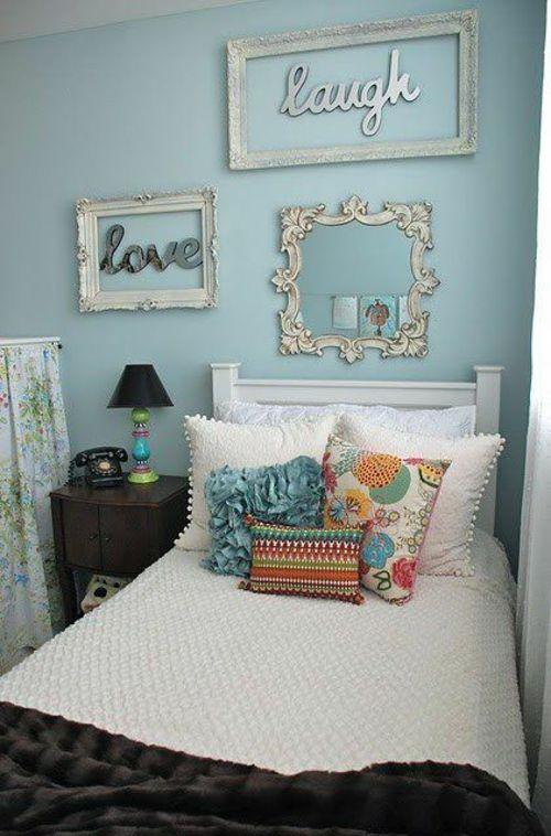 Cool Farbgestaltung f rs Jugendzimmer u Deko und Einrichtungsideen m dchen Farbgestaltung Jugendzimmer rahmen vintage
