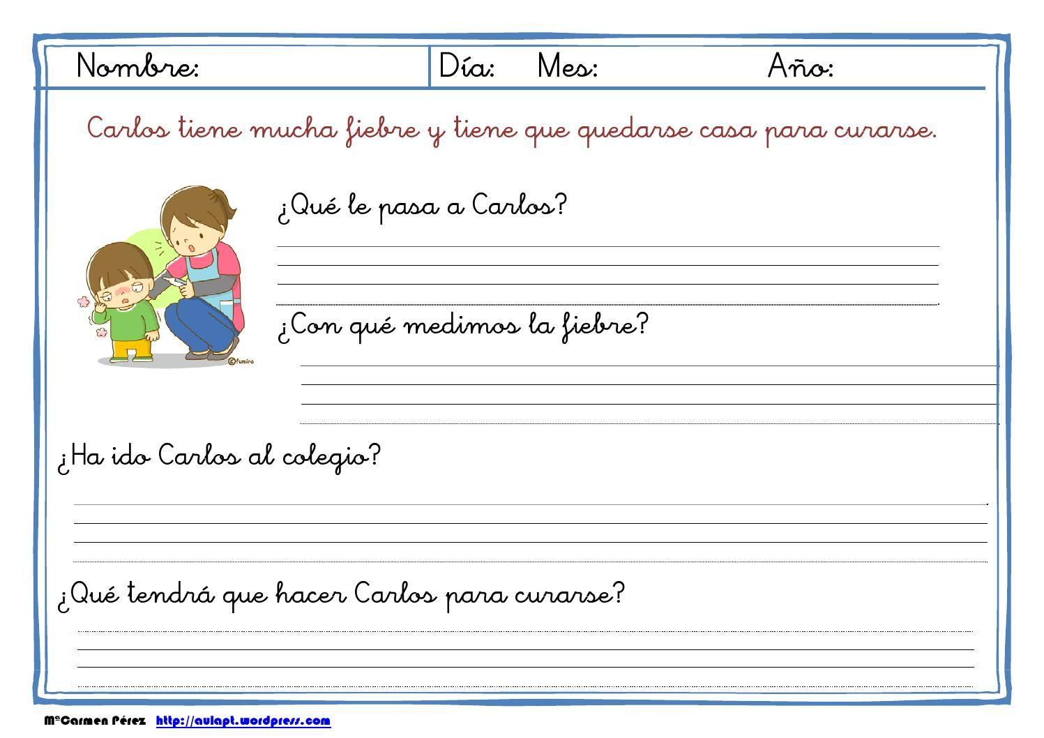 Lecturas comprensivas (I) 1º de primaria  Comprensión Lectora