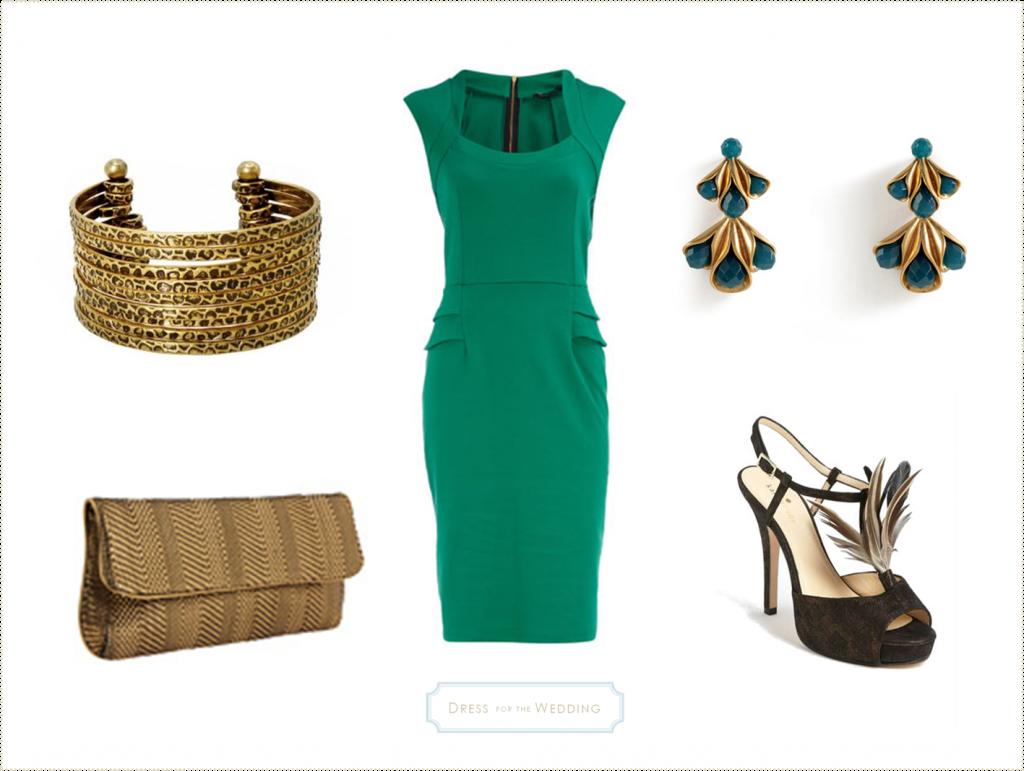 Emerald Green Dress Green Dress Outfit Emerald Green Cocktail Dress Green Fashion [ 771 x 1024 Pixel ]