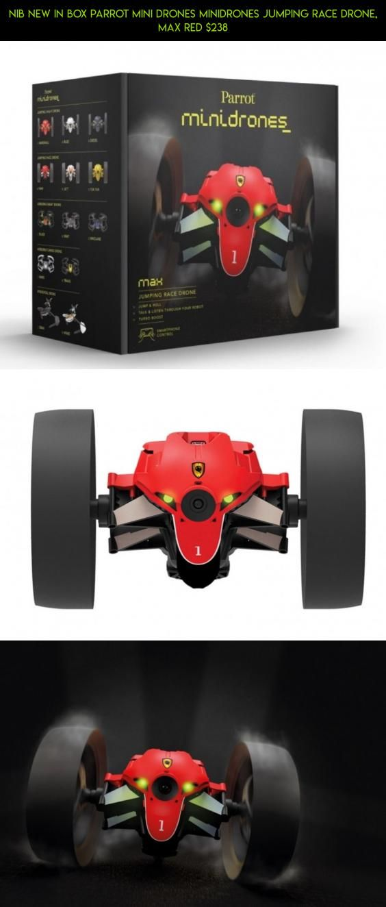 Red by Parrot Parrot MiniDrones Jumping Race Drone Max