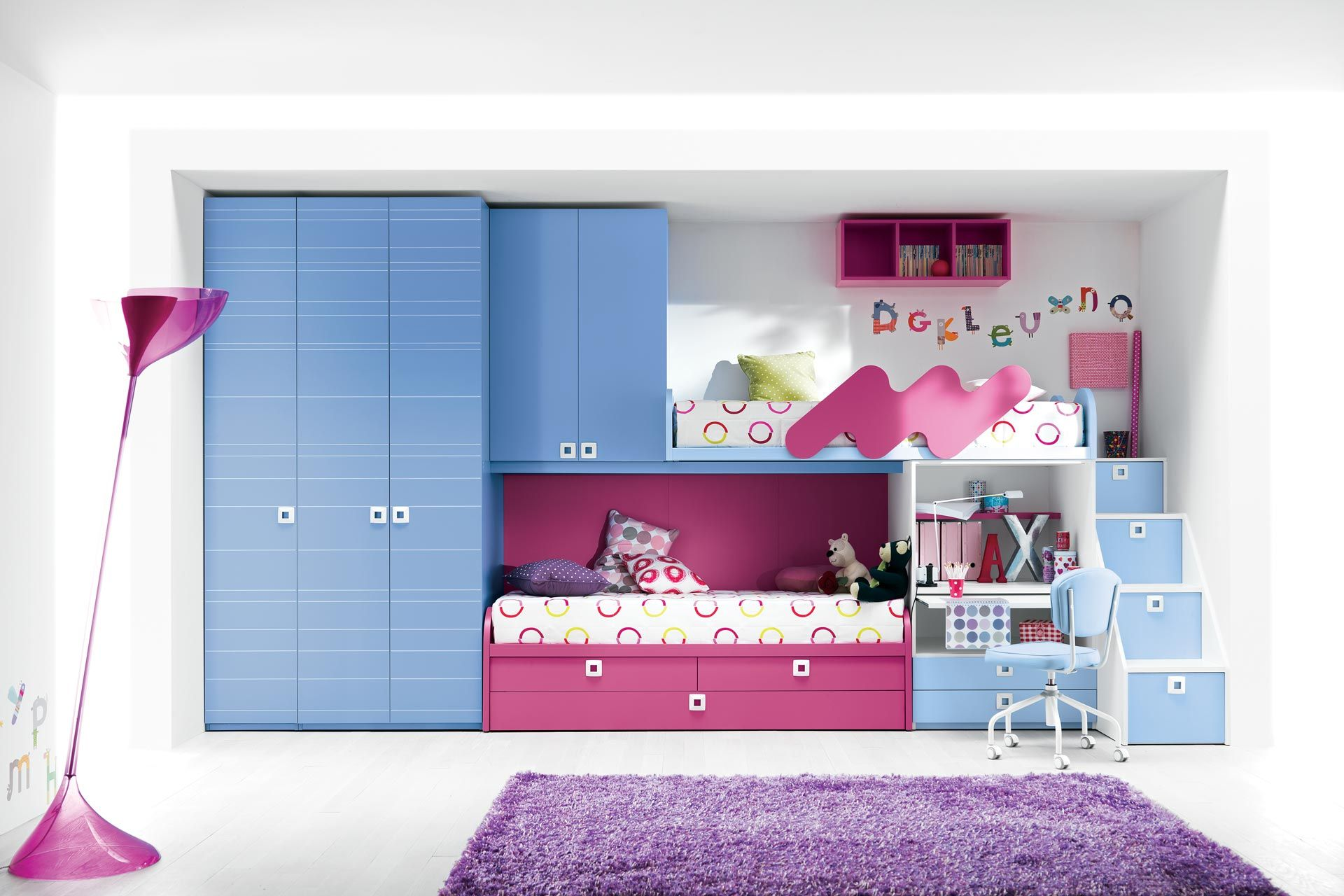 10 Awesome Girls Bunk Beds Decoholic Girls Bunk Beds Cool Rooms Girl Room