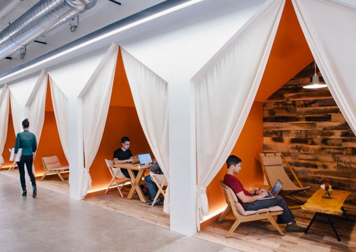 Office Slides? A Draft Beer Bar? Check Out These 6 Innovative (and - innovatives interieur design microsoft
