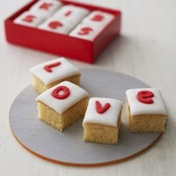 valentine letterbox gift  say it with cake  Creat it  Pinterest