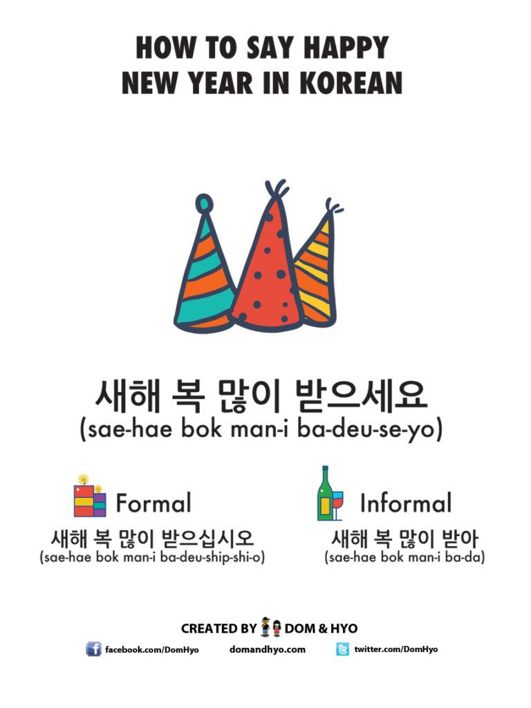 how to say happy new year in korean korean words korean phrases