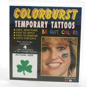 Notre Dame Fighting Irish Tattoos . $4.99. Officially Licensed NCAA Product. Wear the same tattoos that the cheerleaders wear. The best quality tattoos on the market! Great to wear on game day or to show support around the office or stadium. Easy to apply and remove. Package includes 4 face temporary tattoos from Westrick.