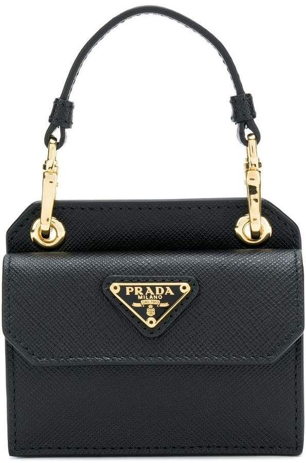 62a354e3cd9b Prada top handle mini tote #prada #mini #black #tote #purse #handbag # leather