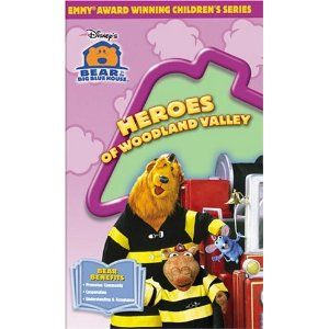 Heroes Of Woodland Valley Vhs Step Outside The Big Blue House