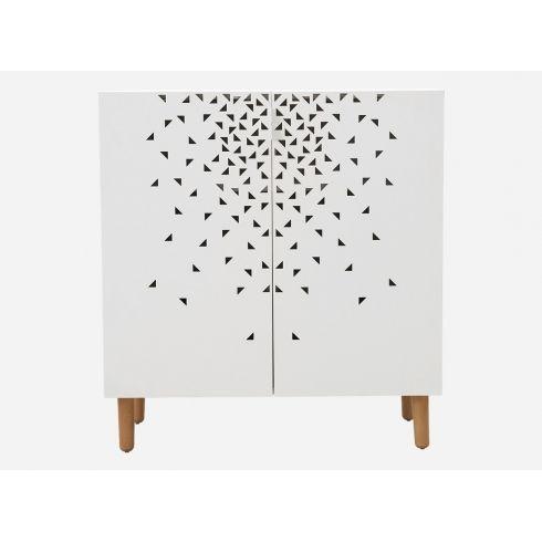Nice Scorpius Medium White Metal Cabinet With Beech Legs #housedoctor  #danishdesign #interiordesign #home