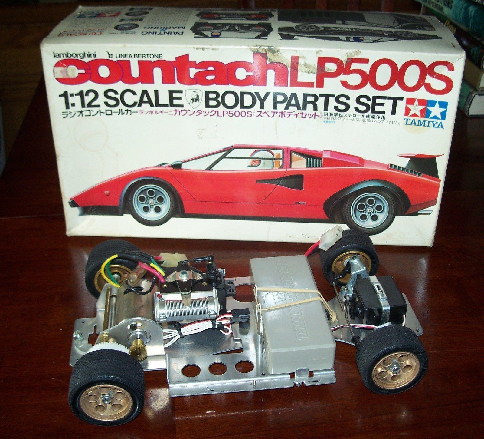 Details About Vintage Tamiya 1 12 Lamborghini Countach Lp500s 58008