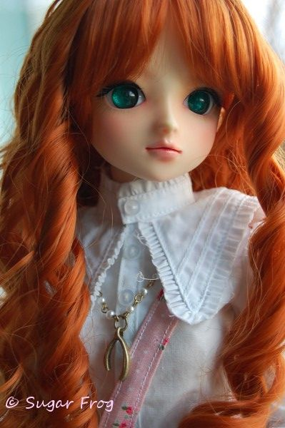 My Volks School B, Deryn's picture from the BJD-Backstory Game. Go to the source for her backstory.