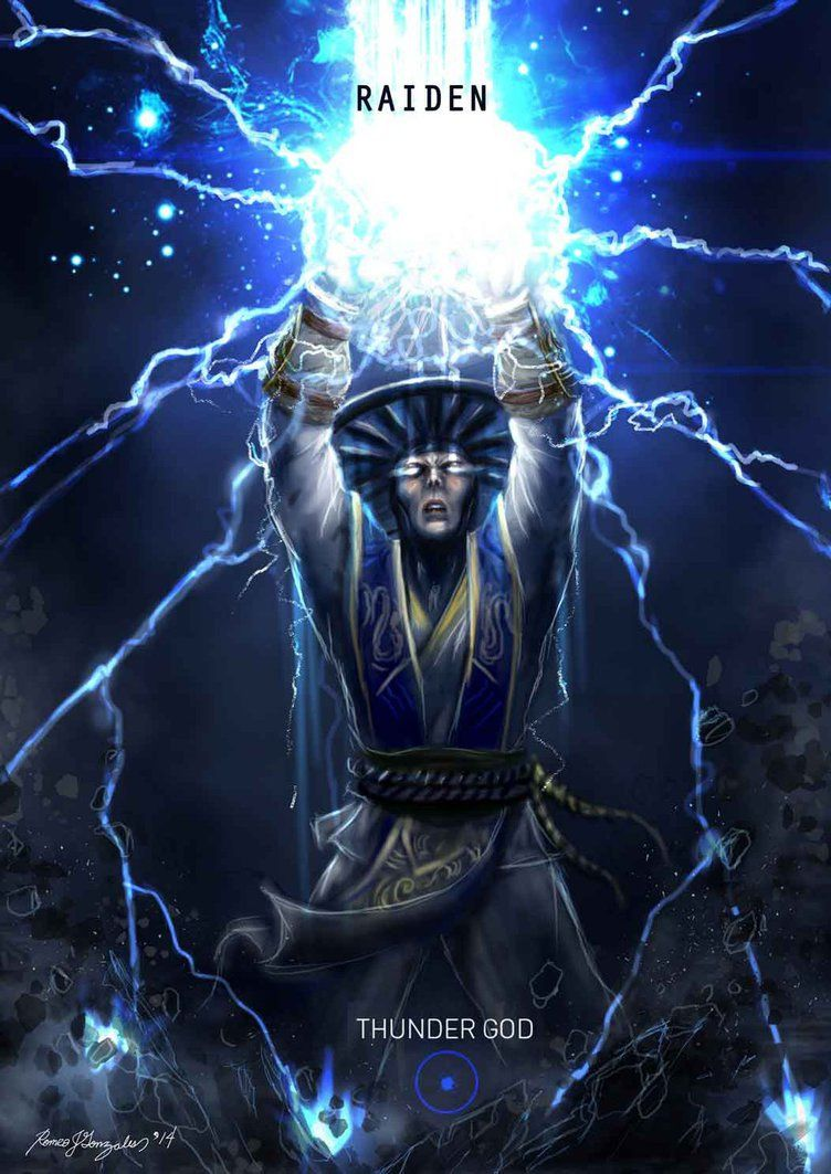 Mortal Kombat X Raiden Thunder God Raiden Mortal Kombat Mortal Kombat Characters Mortal Kombat Art