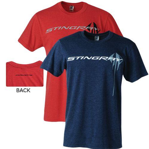 2014 2015 2016 Corvette C7 Stingray Bue Or Red Men S Tee Shirt