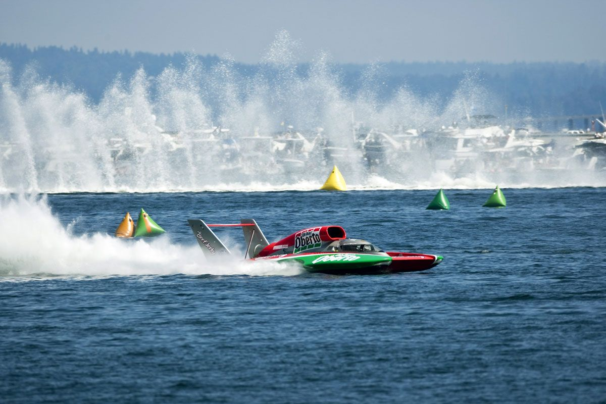Seafair hydroplane boat races, Seattle Not my photo. I did