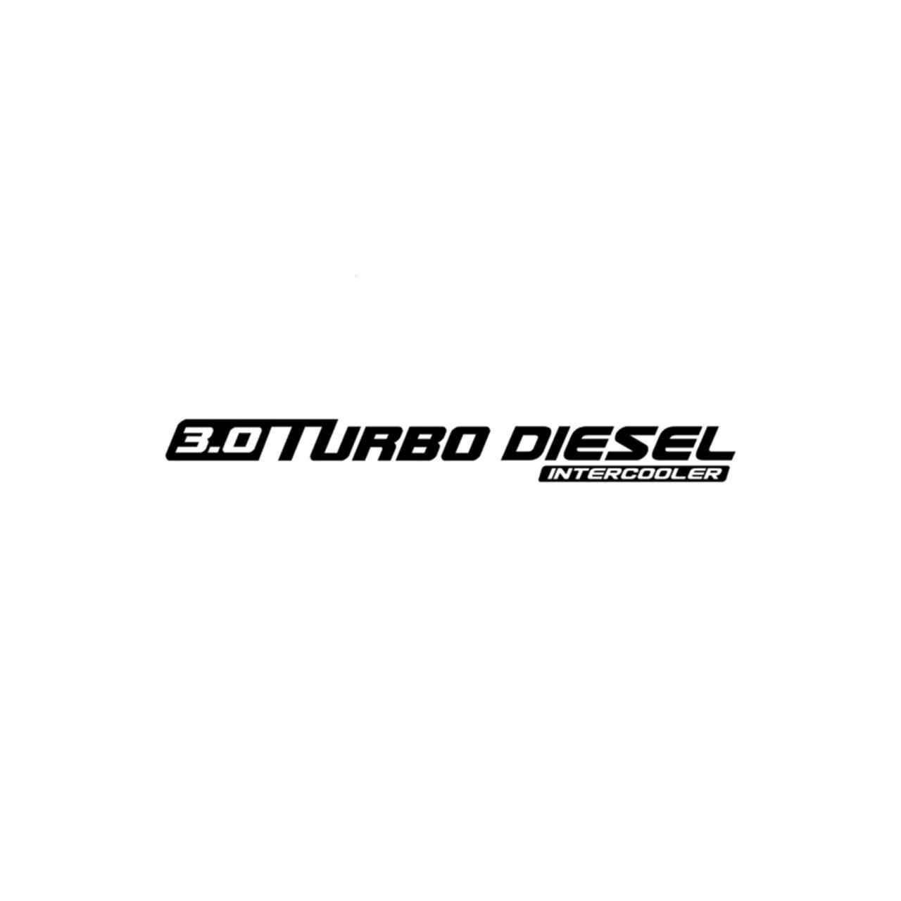 Chevrolet 3.0 Turbo Diesel Vinyl Decal Sticker