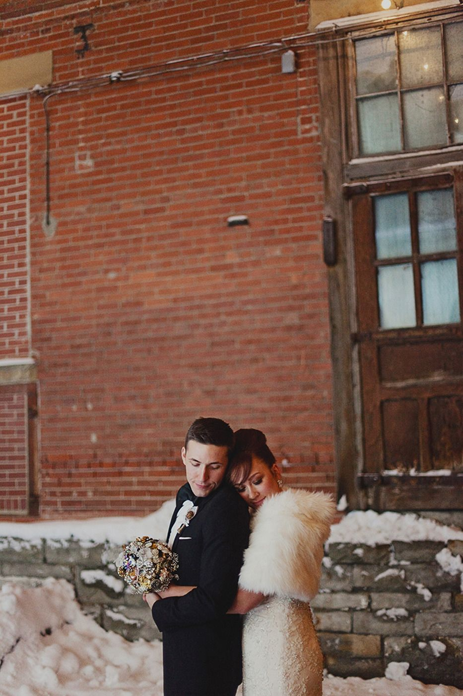 Via Vecchia Winery Winter Wedding by Kelly Maughan Photography