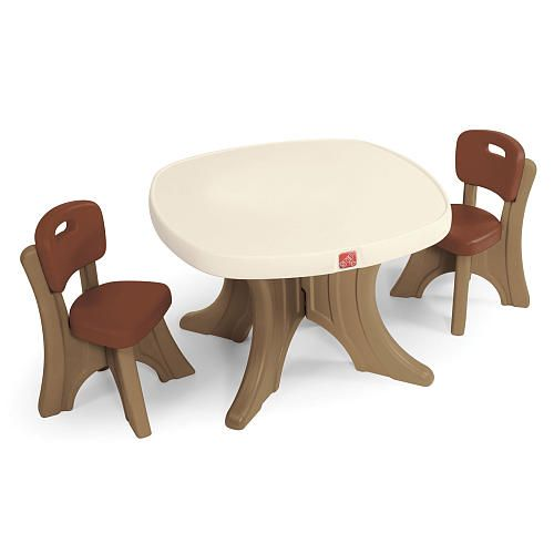 Peachy Step2 New Traditions Kids Table Chair Set Step2 Toys Interior Design Ideas Tzicisoteloinfo
