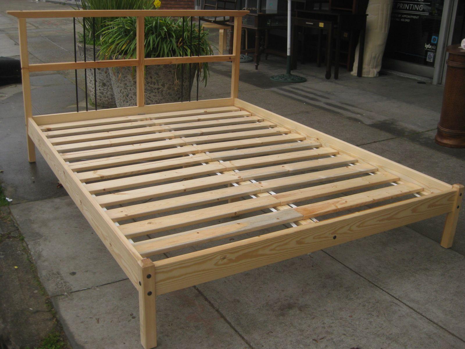 Box Springs vs. Platform Beds Diy platform bed frame