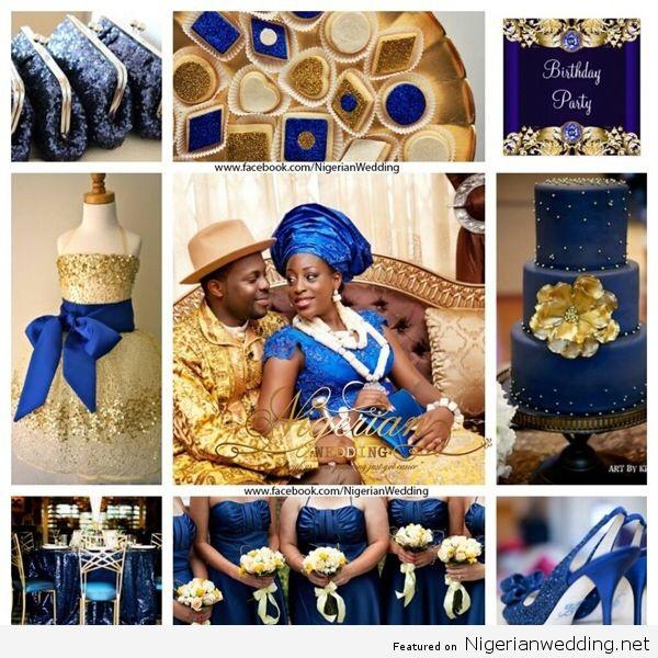 Nigerian Wedding Colour Schemes