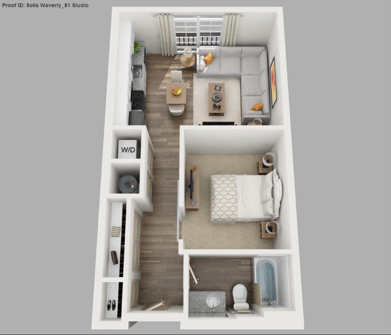 Pin By Bikaki Geronimo On Namų Stilius In 2020 Small Apartment Floor Plans Studio Apartment Floor Plans Apartment Layout