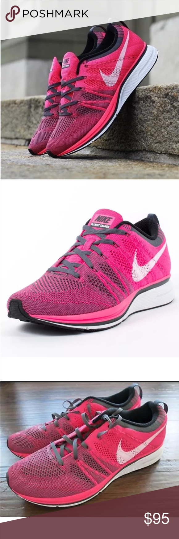 e03e0751a65b How Nike Free 4.0 Flyknit Trainers Womens Sports footwear Womens Trainers  COLOUR-pink
