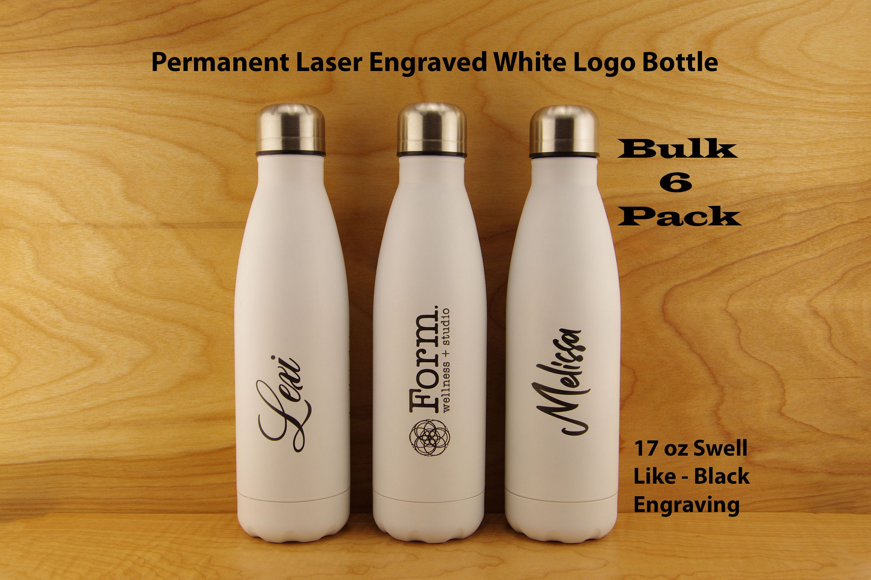 Image Logo Water Bottle Personalized Bottles with Name Laser Engraved