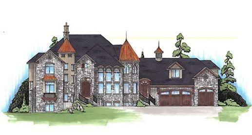 Balmoral House Plan - 6048 This thing is huge22,229 square feet - fresh blueprint design wrexham