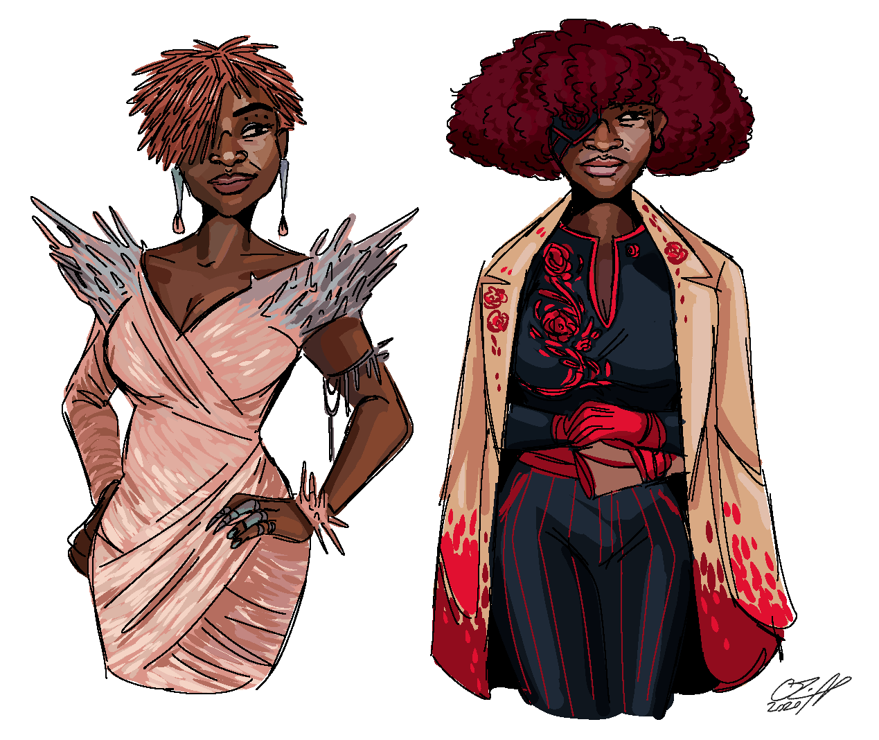 Pin by big dan on Black art | Art fundraiser, Black girl