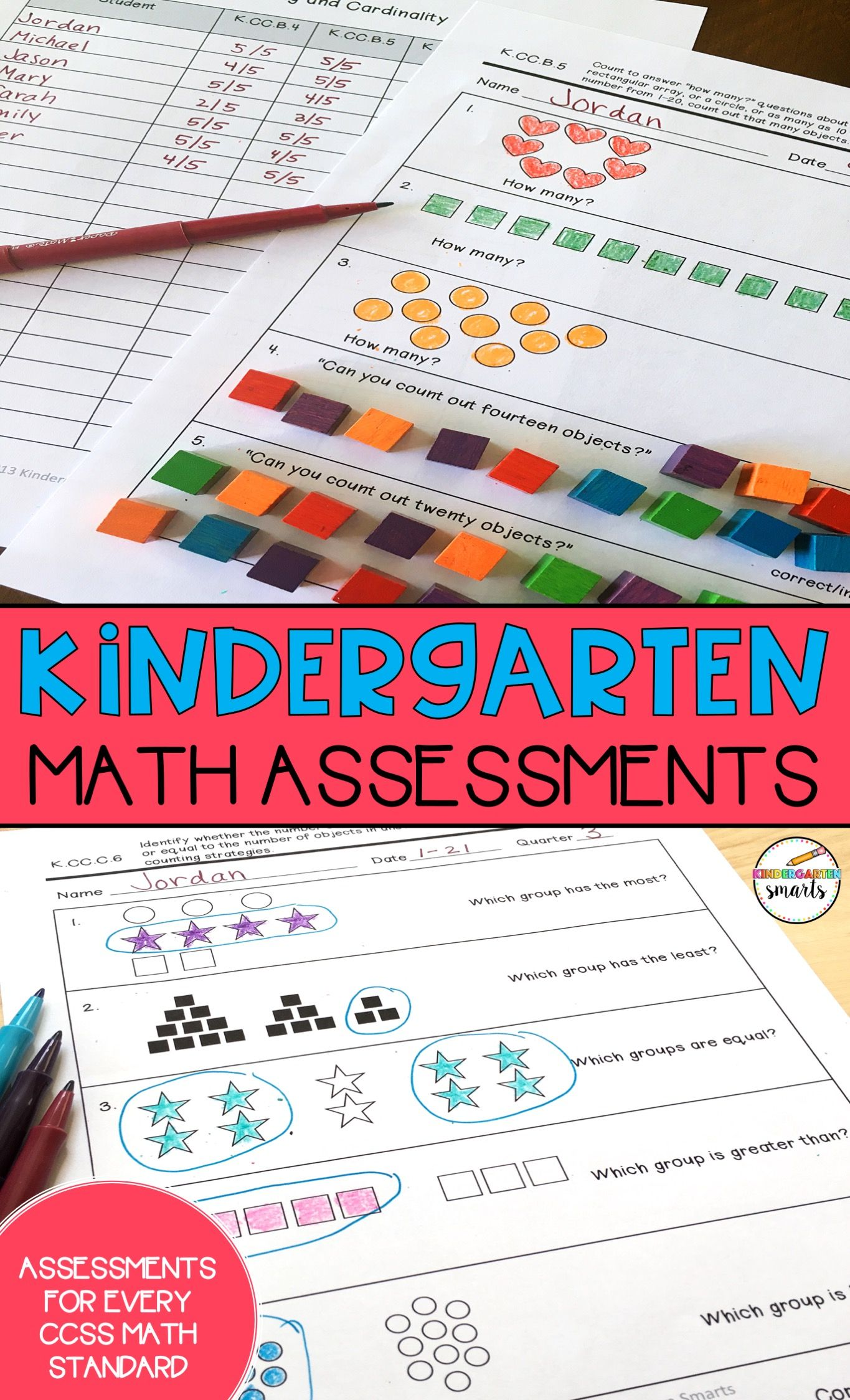 These Math Assessments Are A Great Tool For You To Keep