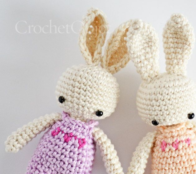 3 Dots Overall :: A free crochet pattern for baby bunny ...