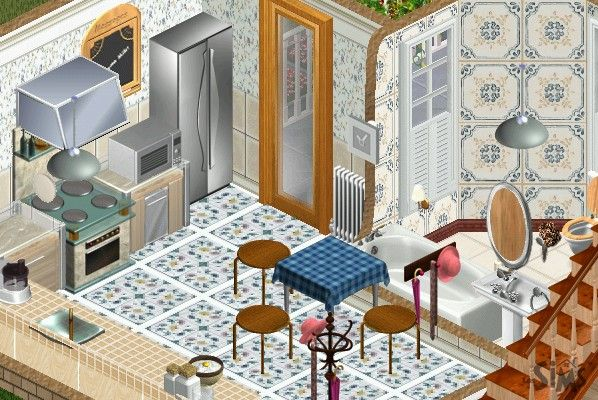Lapida´s home extreme make over Sims 1